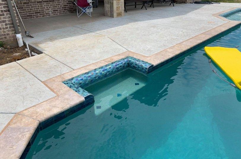 Custom pools in Waxahachie