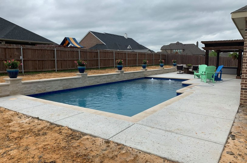 Pool company in Mansfield, TX