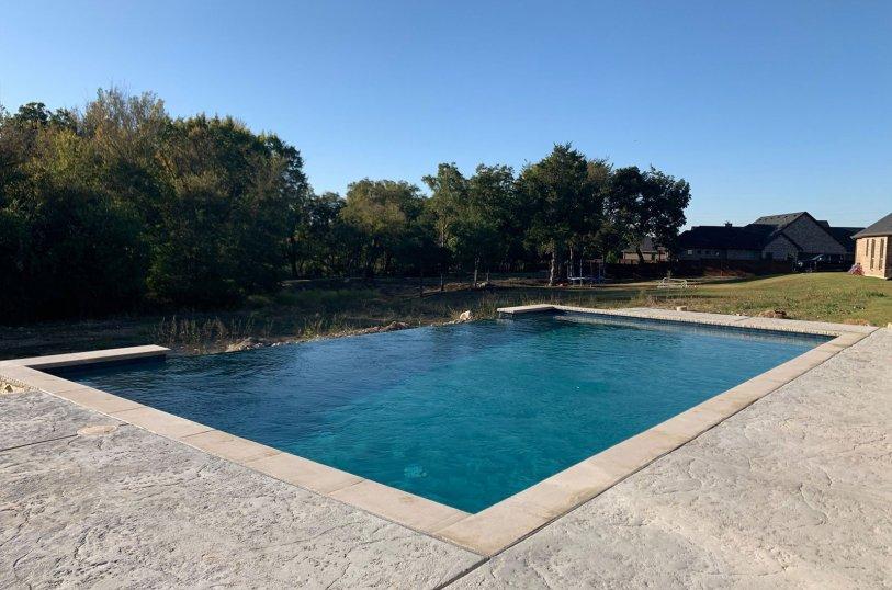 Inground swimming pools in Red Oak, TX