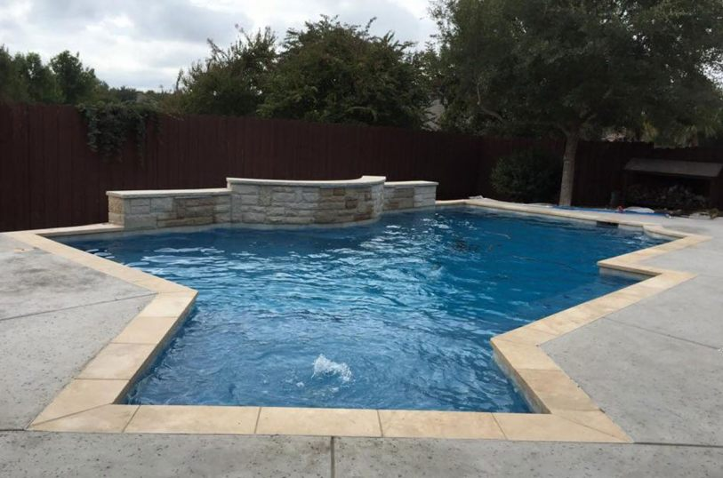 Custom pools in Waxahachie
