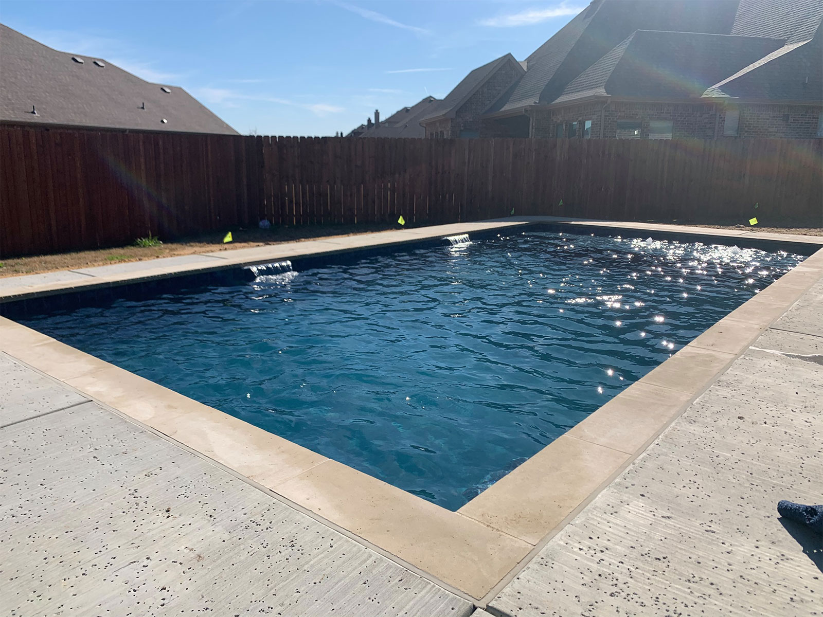 Custom Pools in Mansfield, TX