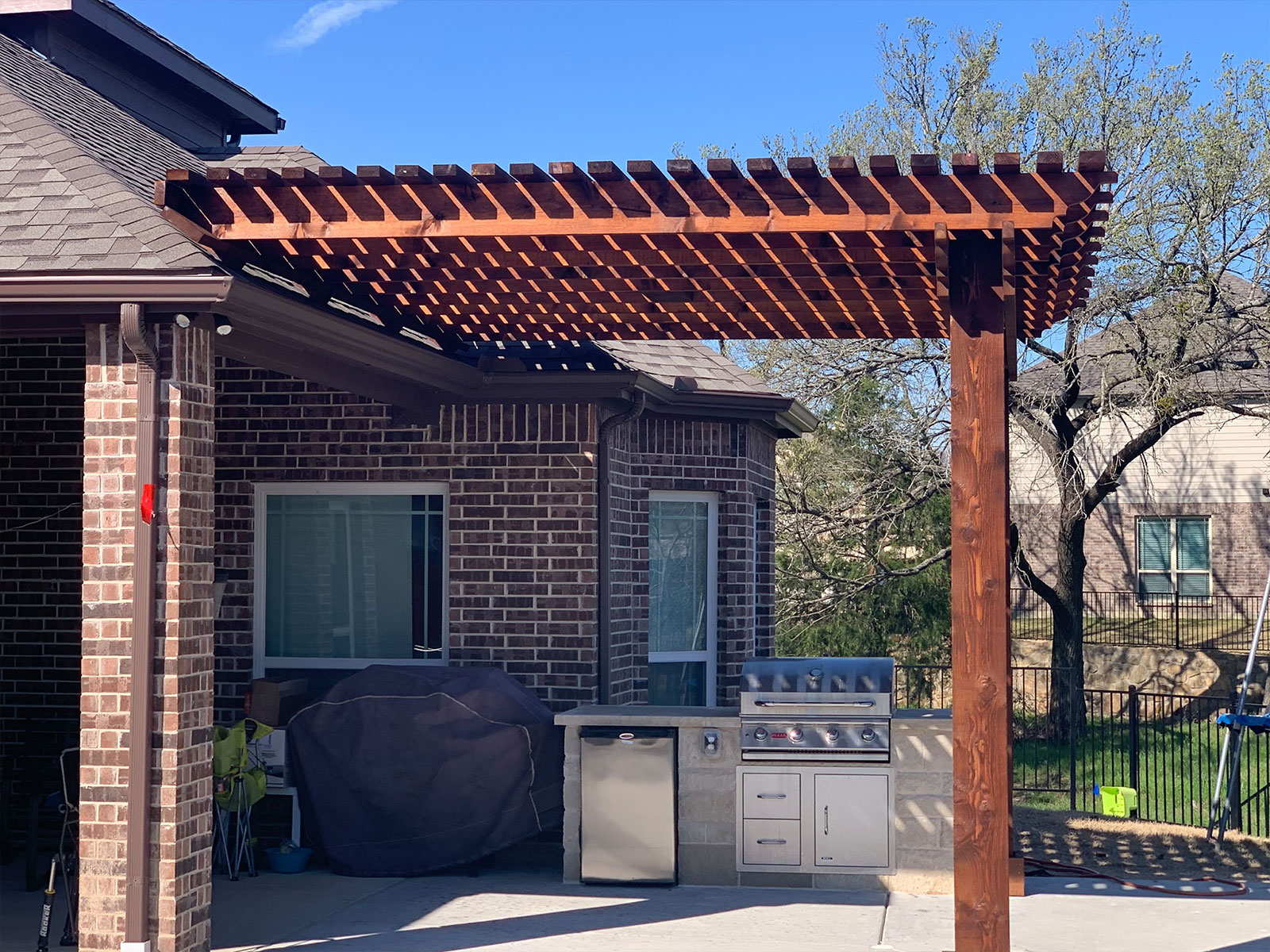 Patio Pergolas in Glen Heights, Mansfield, Midlothian, Ovilla, Red Oak, and Waxahachie, TX