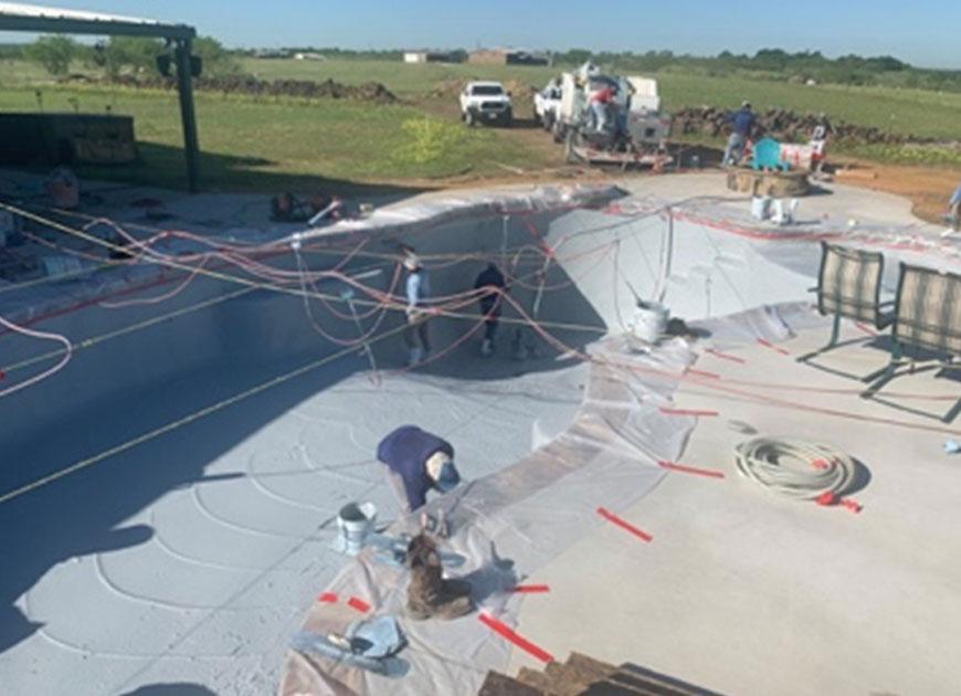 Pool Builder in Mansfield, TX, Waxahachie, Glen Heights, Red Oak, TX, Ovilla