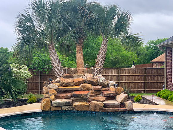 Pool builder company in Mansfield, TX